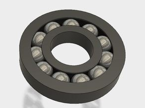 Printable Ball Bearing