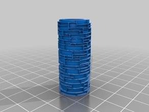 Brick-roll texture