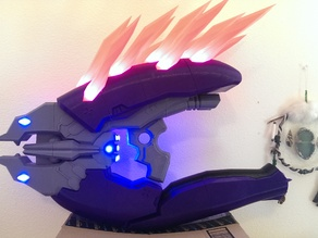 Halo 4 Needler prop weapon with .SLT files