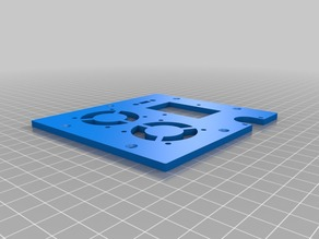 Wanhao Duplicator i3 Control Box Backplate