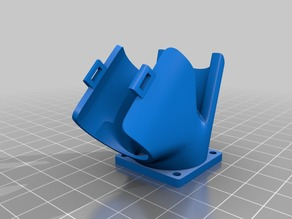 2-in-1 fan duct: extruder and filament cooler for Prusa i3 Steel (3D-Diy)