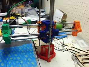 Printrbot Tri-Rod Mod Improved Bottom Piece