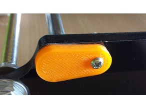 Anet A8 - Guide Rod backup plate