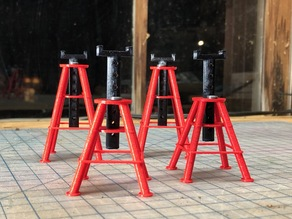 1/10 Scale RC 10 Ton Jack Stands
