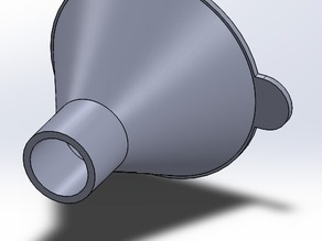 Funnel - 17mm base - 50mm top