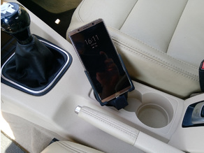 VW Golf EOS Jetta Scirocco +More Cup Holder Phone Mount