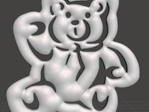 Christmas Tree Ornament - Teddy Bear