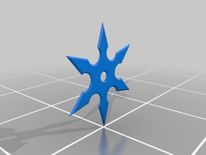 6 pointed throwing star