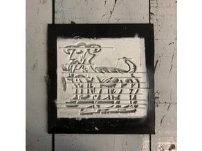 colectivo berru - logo stencil