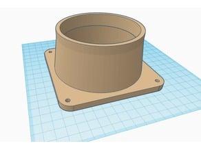 Pc Fan 120mm to 100mm adaptor