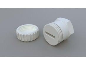 Flat Toothpaste Nozzle