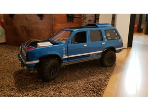 Ford Explorer remix rc conversion