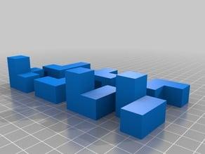 Cube 3D Puzzle