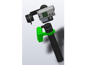SONY Action Cam RM-LVR1 remote holder for FEIYUTECH G5GS
