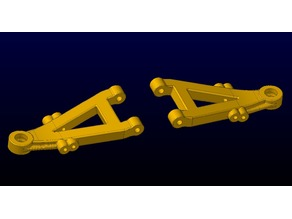 GP Toys S606, S607, S608 Timeflys Truggy Front Control Arms and Spindles