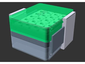 Customizable double-sided nozzle box