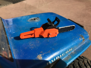 Chainsaw for RC 1/10th scale models
