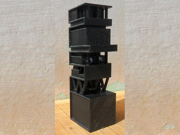 Antilia Building In Mumbai By Makkuro Thingiverse