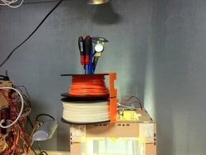 Filament Spool Stacker
