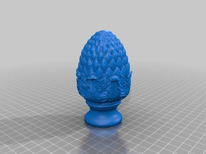Pinecone Finial v2