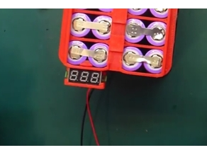 Small block voltmeter clip-on