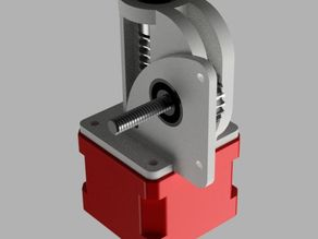 XAS Worm Gear Extruder Adapter for MK8 extruder