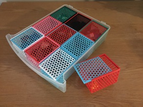 Honeycomb utility box