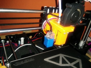 E3Dv6 Bowden X-carriage mount V2 reversed