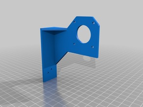 Anet A8 drag chain mounts