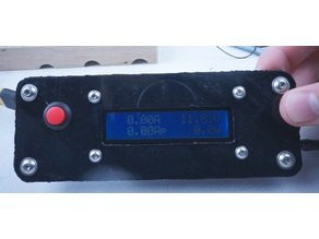 Power meter holder / panel mount
