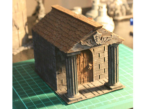 Mausoleum - Graveyard Themed Set for Dungeons and Dragons, Warhammer of Tabletop fantasy games.
