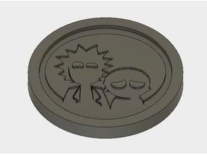 Rick and Morty Coaster