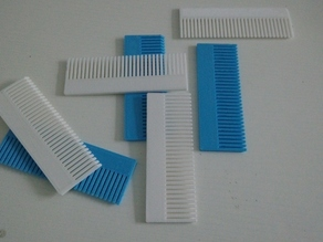 Comb for 3d printing