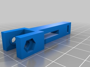 Anet A8 X axis belt tensioner