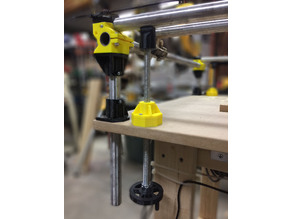 MPCNC leg leveler, stiffener and large table support
