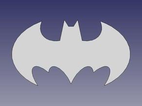 Batman Symbol FreeCAD