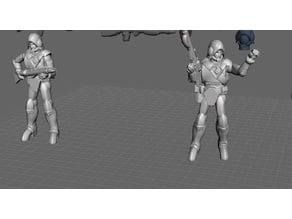 Robotech Zentraedi Lt Combat Armor Buddy Team 1