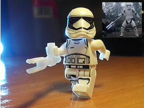 Z6 Baton from Star Wars for Lego - FN-2199, A.K.A. TR-8R TRAITOR