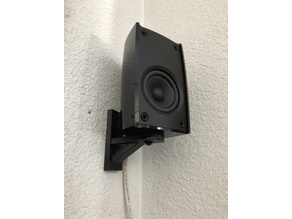 Bottom/Tripod Mount Surround Sound Speaker Wall Mount