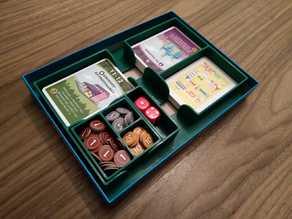 Machi Koro box organiser (16cm x 22cm x 3cm)