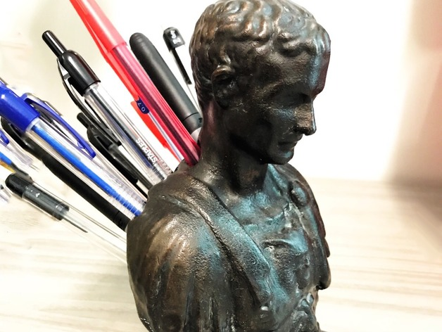 Julius Caesar Pencil Holder Gorgeous Julius Caesar Improved PenPencil Holder By Napear