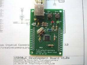 USB90μC Minimal Development Board V1.0a