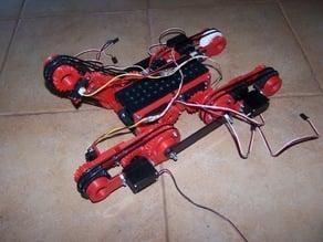 D-Track mobile robot