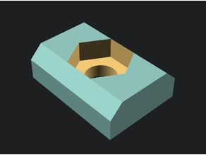 t-nut for 2020 extrusion with 5mm slot