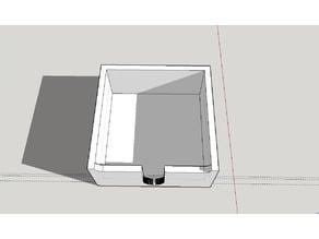 Post-it holder (5cm x 5cm x 2.2cm)