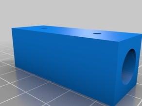 Customizable simple tube / pipe / dowel coupler