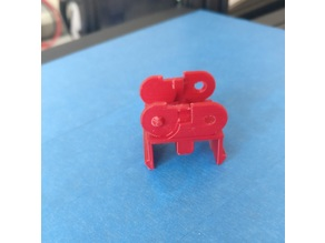 Ender 3 Extruder cable chain parallel mount