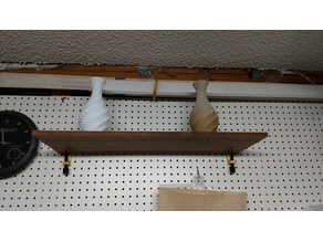 Pegboard G-Clamp