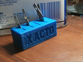 Things Tagged With Xacto Thingiverse