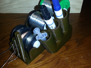 Yet Another Solder and Flux Holder
